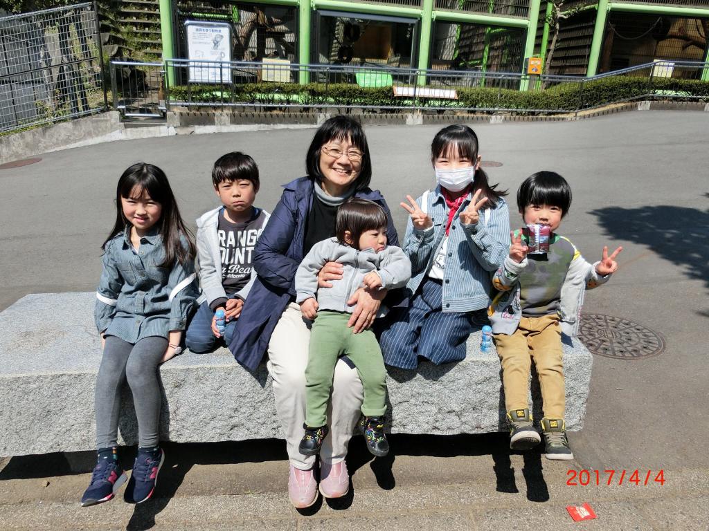 くさの助産院 動物園遠足