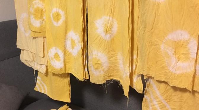 幸せの黄色いサラシ♡